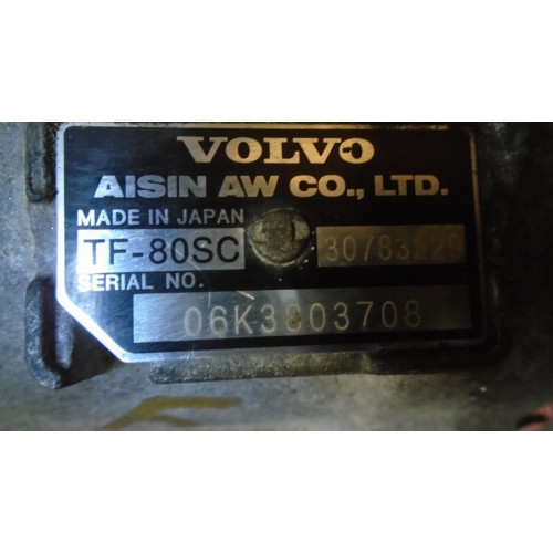 АКПП TF-80SC AWD D5244T4/5/18  VOLVO (ВОЛЬВО)