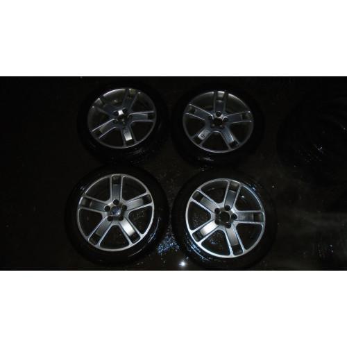 """Увеличенное изображение: Диск колесный Zaurak 7х17"""" Silver Bright + Шины 205/50 R17 комплект 10000р"""